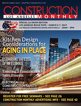 LA Construction Monthly Magazine March 2019